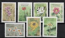 (W1319) KYRGYZSTAN, 1994, FLOWERS, MI 29A/35A, UM/MNH, SEE SCAN