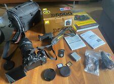 Nikon D5500 Digitalkamera + Sigma Objektiv + Zubehörpaket