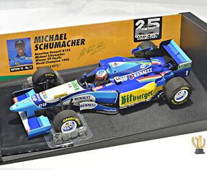 1:18 Minichamps 510953301 Benetton Renault B195, Pacific GP 1995, Schumacher #1
