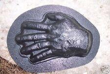 abs plastic Halloween hand mold plaster cement concrete mould