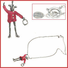 "Rare pendant necklace/servane gaxotte mouse serie ""doll"" designer jewel"