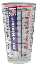 Eddingtons Mix N Measure Glass Cup For Kitchen Bar Coctails Measuring Units