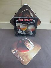 NEW Chimay Belgian Trappist Plastic Display Stand + 20 Pack of Beer Coasters