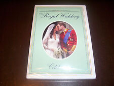 ROYAL WEDDING 2011 Prince William Catherine Middleton England Royals DVD NEW