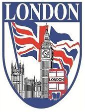 Window & Bumper Sticker - London Shield Car Sticker.