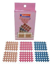 8x Mix Cross Kindmax 4 Farben 44mm x 52mm Kinesiologie Tape Kinesiology