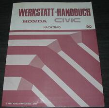 Werkstatthandbuch Honda Civic 4WD Allrad Differential mit Viskoskupplung ab 1990