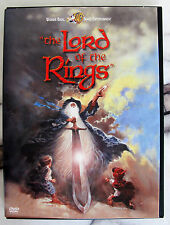 Warner Bros.The Lord of the Rings 1978 Animation DVD [Region 1] Rare DVD