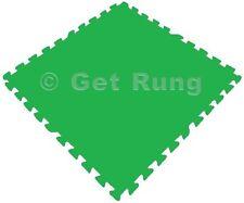 24 SQ FT GREEN INTERLOCKING FOAM FLOOR PUZZLE TILES ANTI FATIGUE SAFETY MATS