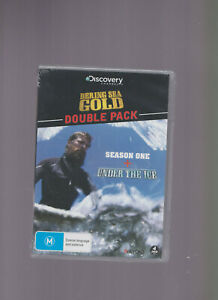 } NEW/SEALED Discovery Channel Double DVD Pack:Bering Sea Gold / Under The Ice