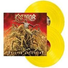 KREATOR - PHANTOM ANTICHRIST 2 LP VINYLE JAUNE THRASH METAL++++++++++++ NEUF