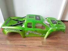traxxas x maxx proline shell proffesional glitter / metallic green paintjob new