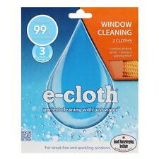 E-Cloth Vetro Finestra Confezione da 2 in microfibra per & panni di lucidatura, nessun prodotti chimici