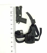 X103-07 1/6 Scale HOT SWAT Pistol w/h Holster TOYS