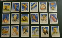 Inserts, pictures from matches of the USSR Gagarin, space Full set 18pc. !