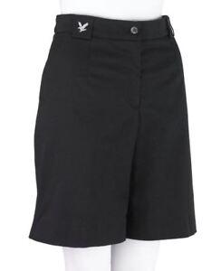 Lyle & Scott Womens LDS Flat Front Shorts, Damson, UK 10 - BNWT!