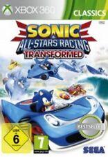 Xbox360 Sonic ALL STARS RACING TRANSFORMED ottimo stato