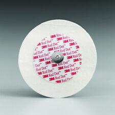 EKG Snap Electrode 3M Red Dot Monitoring Non-Radiolucent 50 per Bag