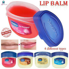 4 Colors Vaseline Lip theropy Petrolium Jelly Lip Balm Cocoa Brulee Men Women