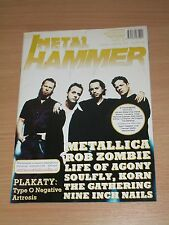 Metal Hammer magazine 1 2000 * Metallica on cover * Soufly * Korn