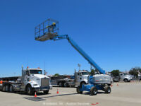 2013 Genie S-45 45' 4WD Diesel Telescopic Boom Lift Man Aerial Platform bidadoo