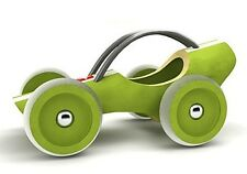 Hape Bamboo Green Rare e-Racer Le Mans Car Toy Made in SWITZERLAND