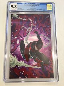 Miles Morales: Spider-Man #19 Skan Virgin Variant CGC 9.8 ASM 300 Homage