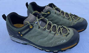 Salewa MS MTN Trainer 3F Myrtle/Nugget Gold 63414/4016 Low Hiking Shoes Men 11