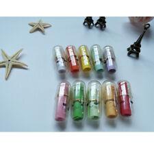 Transparent 50 Pcs Mini Mixed Color Love Message Capsule Cute Pills New Arrival