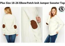 Hip Length Acrylic Work Jumpers & Cardigans for Women