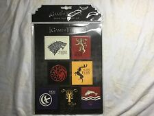 Game of Thrones House Sigil Magnet Set (2012, Merchandise, Other)