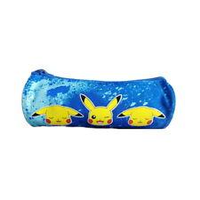 Trousse Scolaire Fourre Tout Rond 22 x 8.5 cm - Pokemon Pikachu