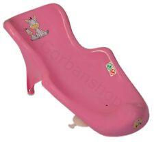 Bebé Infante Recién nacido bebé bañera Soporte de asiento de seguridad silla Rosa Zebra