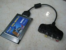 Dell Margi DVD-to-Go DVD/MPEG-2 PCMCIA PC Card with TV & Dolby AC3 Audio Out