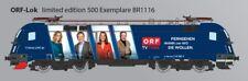 Ho Taurus Rail ad-ORF TV Lok-ÖBB-br 1116 en DC-DSS-agotado-limitado
