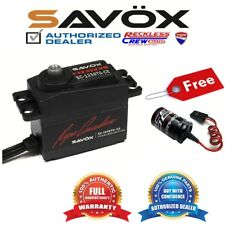 Savox SC-1258TG-CE Coreless Digital Servo Ryan + Free Glitch Buster