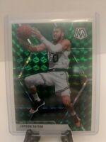 Jayson Tatum 2019-20 Panini Prizm Mosaic Green Prizm #79 Boston Celtics SP