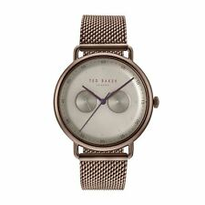 6edd35856a10f Ted Baker Gents Watch Bronze Effect Bracelet   Multi Dial TE50520008