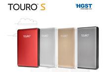 """HGST Touro S 7200RPM 2.5"""" 1To USB 3.0 Disque dur externe portatif HDD 1000 Go"""