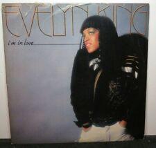 EVELYN KING I'M IN LOVE (VG+) AFL1-3962 LP VINYL RECORD