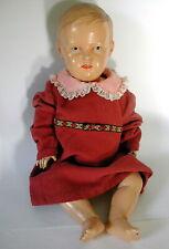 Vintage Zelluloid Cellba Junge Puppe 60 cm DRP 50er Germany Nixe  Old Doll 1950s