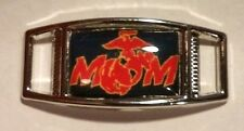Set of 2 U.S. Marine Corps MOM Shoelace Charms For Paracord Projects