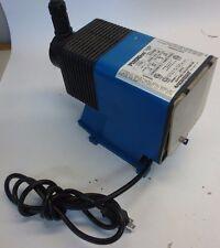 PULSATRON LPD4SA-PTC1-500 ELECTRONIC METERING PUMP 115V .6A 1-PH 150psi 21 GPD