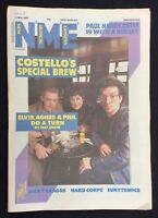 NME Music Magazine 11 May 1986 Elvis Costello Eurythmics Ricky Skaggs Hard Corps