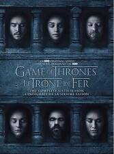 Game of Thrones: The Complete 6th Season (DVD, 2016, 5-Disc Set, Canadian...