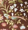 "120cm x 80cm Vintage SANDERSON ""Bird and Peony"" Linen union fabric"