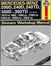 Mercedes-Benz 1976-1985 Workshop Manual Haynes - Download Link PDF