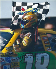 Kyle Busch Signed 8x10 NASCAR Photo M&M's #18 Cup Series
