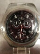 Invicta 17725 Specialty Chronograph Tachymeter Date Black Dial Mens Watch