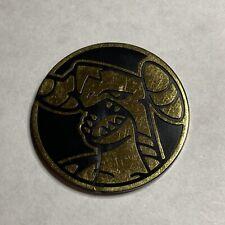 Pokemon TCG Garchomp Gold Mirror Holofoil Official Collectible Coin